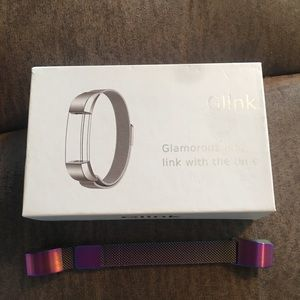 New multi colored Milanese Fitbit Alta band